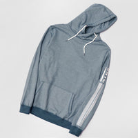 Big Man Birdseye Striped Over Head Hoodie (LI-10441)