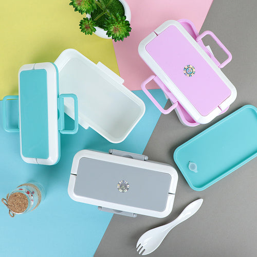 Portable Lunch Box Picnic Microwave Bento Food Storage Container