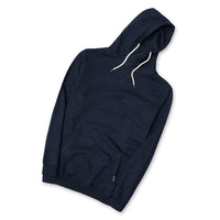 Big Man Denim Marl Over Head Hoodie (LI-10440)