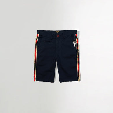 Boys Cotton Rich Chino Shorts with web side stripe (RE-2972)