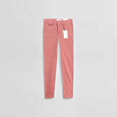 Ic-hi Women Pink High Waisted 80's Skinny Stretch Jeans (IC-657)