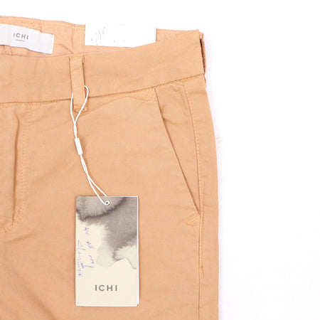 Ic-hi Women Camel High Waisted 80's Skinny Stretch Jeans (IC-656)