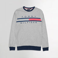 Men Cotton Heavy Jersey Logo Graphic Sweat Shirt (TO-10470)