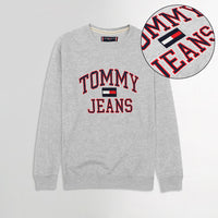 TMY HILFGR Signature Applique Sweatshirt  (TM-1640)