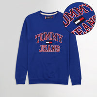 TMY HILFGR Signature Applique Sweatshirt  (TM-1638)