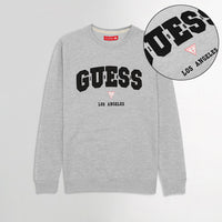 GS Super Soft Applique Embroidery Sweatshirt  (GU-1636)