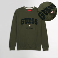 GS Super Soft Applique Embroidery Sweatshirt  (GU-1632)