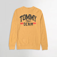 Men Pique Stretch Terry Logo Sweatshirt (TO-10471)