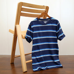 MEN EUAN STRIPED COMFORT STRETCH T-SHIRT (JJ-11462)