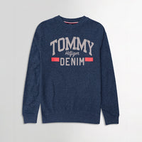 Men Pique Stretch Terry Logo Sweatshirt (TO-10472)