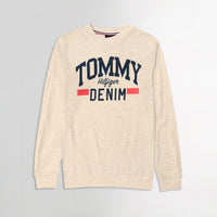 Men Pique Stretch Terry Logo Sweatshirt (TO-10467)