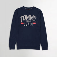 Men Pique Stretch Terry Logo Sweatshirt (TO-10468)