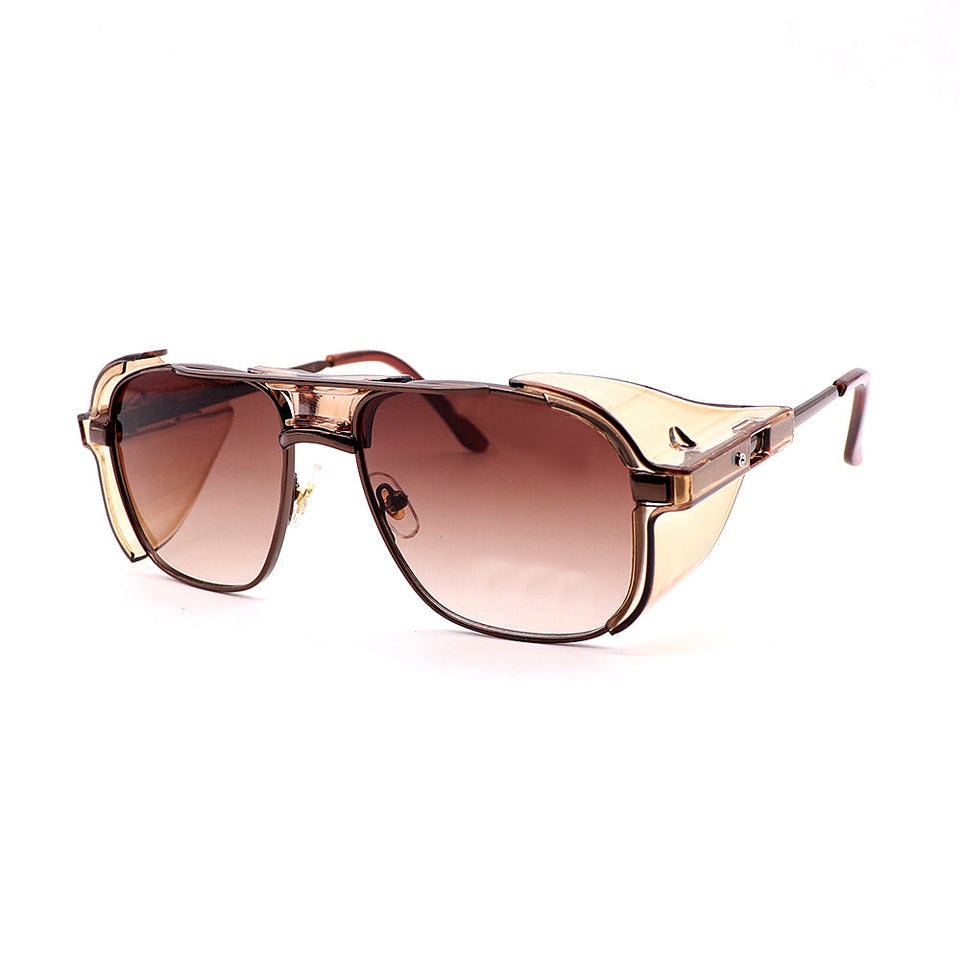 LCSTE SQUARE SHAPED COVERED SUNGLASSES