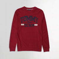 Men Pique Stretch Terry Logo Sweatshirt  (TO-10465)