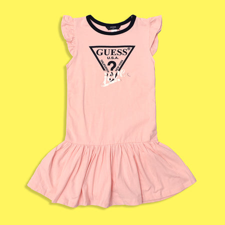 GSS Girls Graphic Stretchy Dress Frocks 2 to 14 Years (GU-4560)