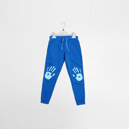 Kids Palm Print Close bottom Joggers(BO-1650)