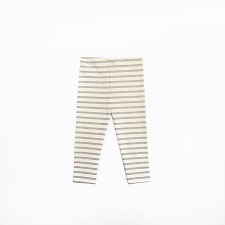 ZR STRIPED COTTON STRETCH POCKET LEGGINGS (ZA-1652)