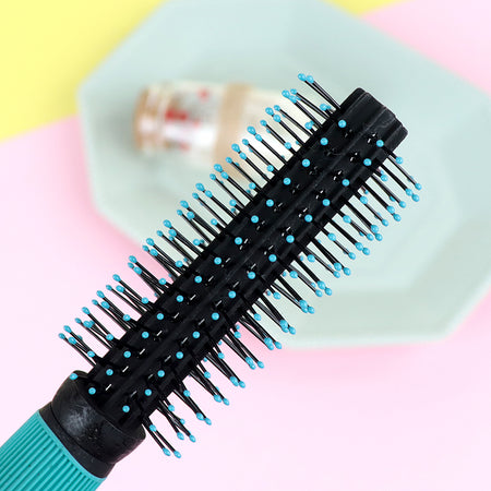 Melissa Small Round Hair Brush for Blow Drying With Soft Nylon Bristles (HB-20356)