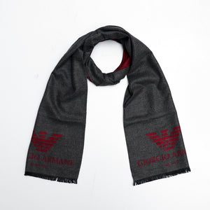 All over Jacquard weaved Monogram Stole (GA-1683)