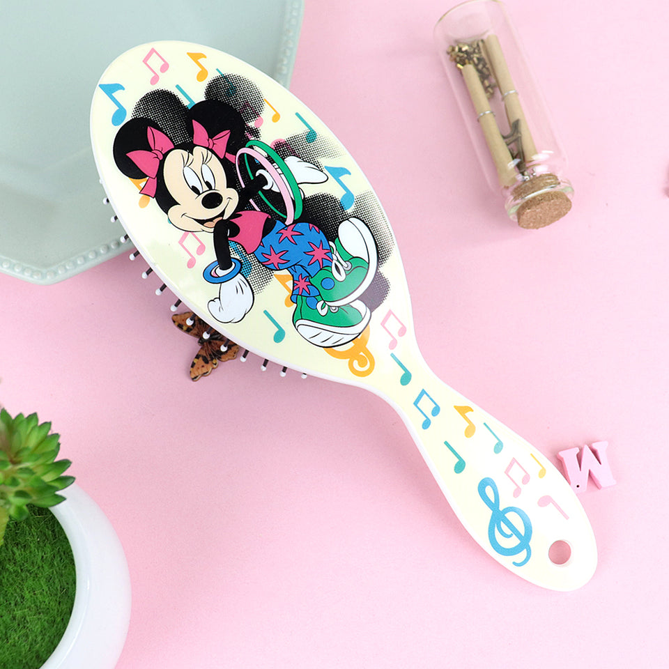 Multi Color Printed Detangler Hair Brush