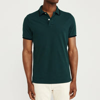 Peacock Pure Cotton Tipped Collar Regular Fit Polo Shirt (LO-775)