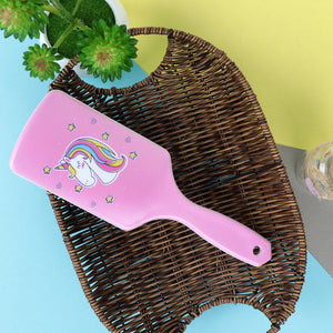 All over Unicorn / Flamingo Printed Hair Brush