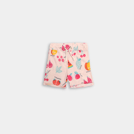 Babies Club All over Fruit Printed Jersey Shorts (BC-472)
