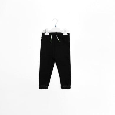 OR Kids Contrast Stitch Quilted Joggers (OR-1728)
