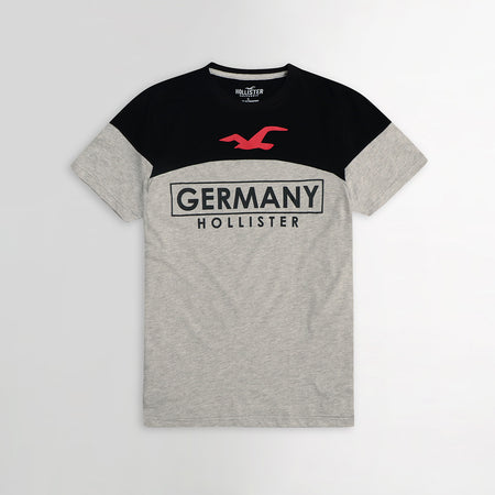 Color Block Germany Graphic Tee Shirt (HO-812)