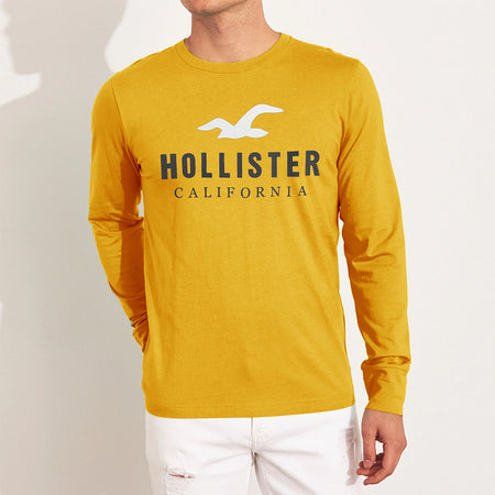 Long Sleeve Iconic Graphic Tee Shirt (HO-818)