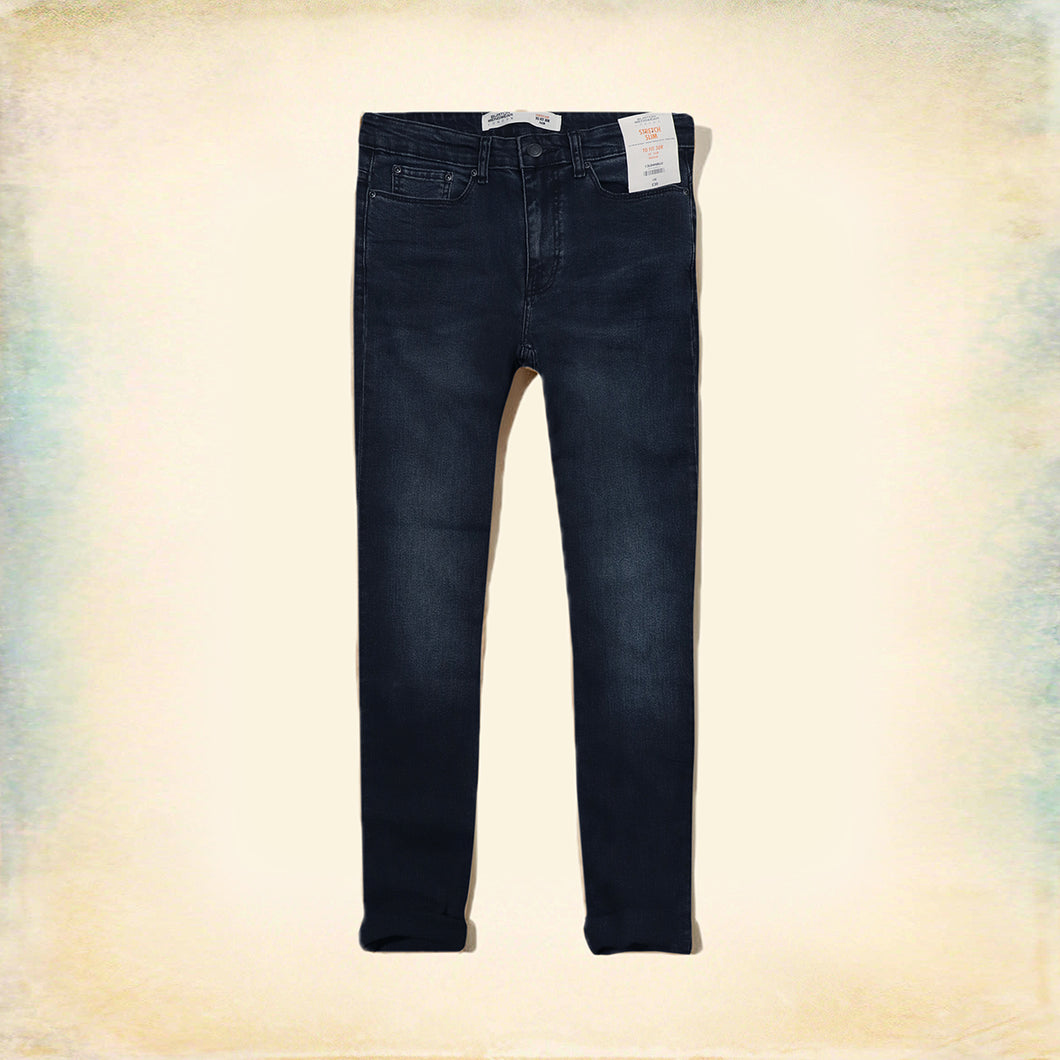 Nicolas Slim fit vintage wash Jeans  (BU-815)