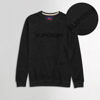 Sprdry Statement Applique Sweatshirt (SU-1752)