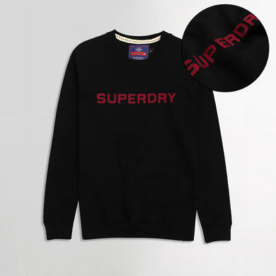 Sprdry Statement Applique Sweatshirt (SU-1755)