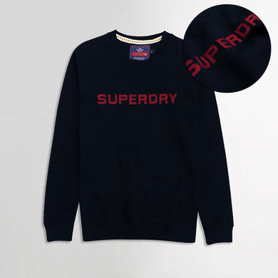 Sprdry Statement Applique Sweatshirt (SU-1761)