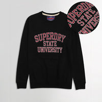 Sprdry Statement Applique Sweatshirt (SU-1756)