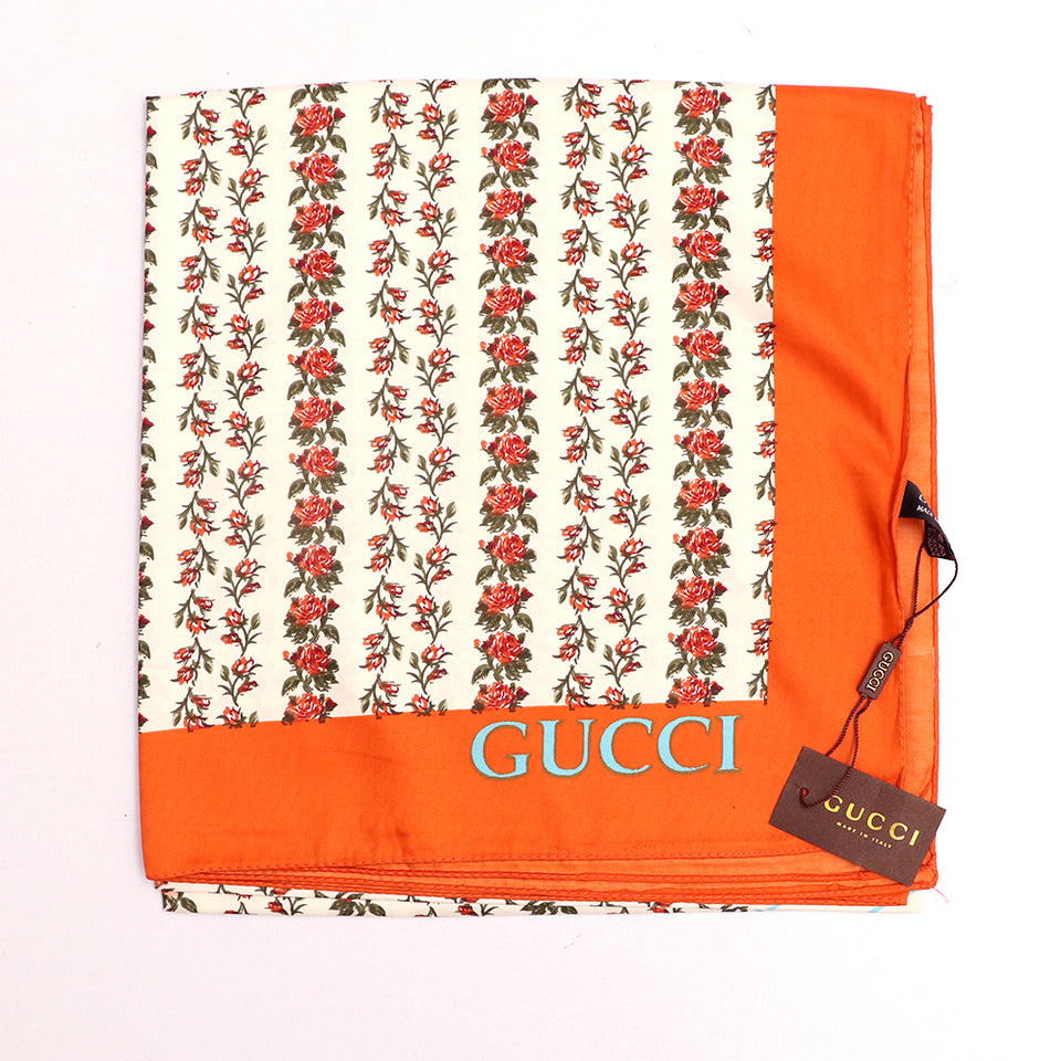 Silk Stole with Luxury print and monogram (GU-845)
