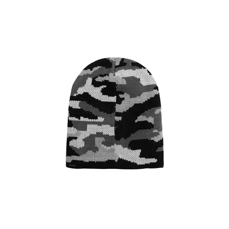Achille Textured fitted beanie Cap  (AC-1779)
