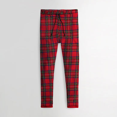 ZR Women EXCLUSIVE FLEECE CHECK PRINT TROUSERS  (ZA-1804)