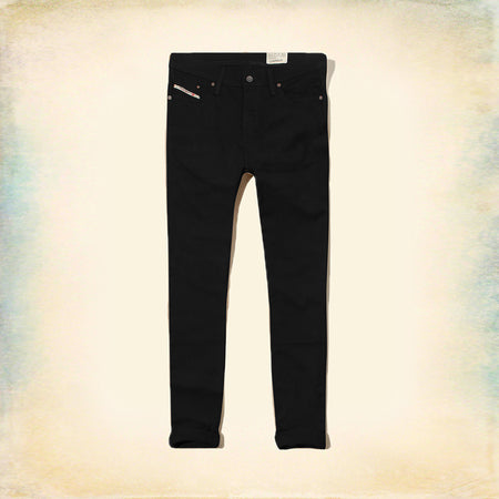 DSL EXCLUSIVE BLACK SLIM FIT STRETCH JEANS (DI-4687)