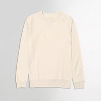 L.L Men Basic Oatmeal Super Soft Crew Sweatshirt  (LL-10055)