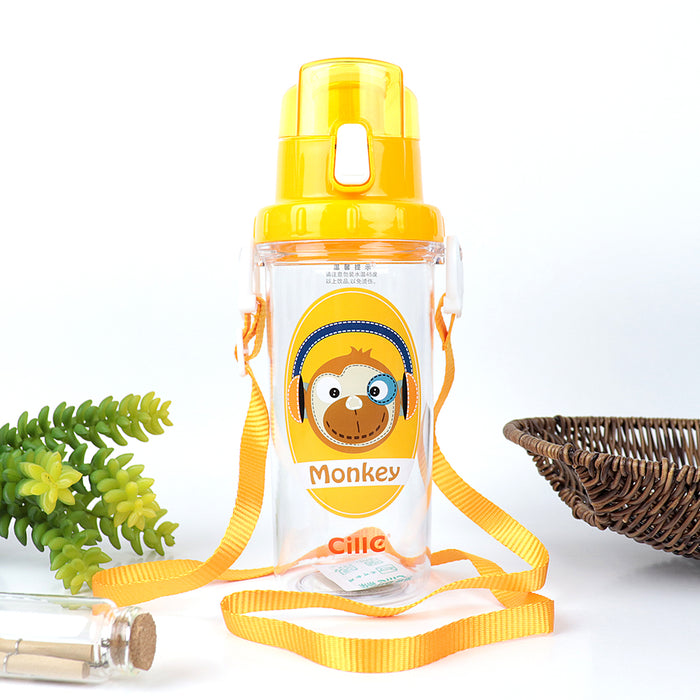 Cille Kids Water Bottle with push open button (CL-20228)