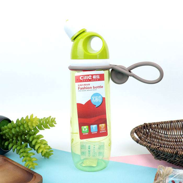 Cille Fahion Green Drink Water Bottle 650 ML (BT-20457)