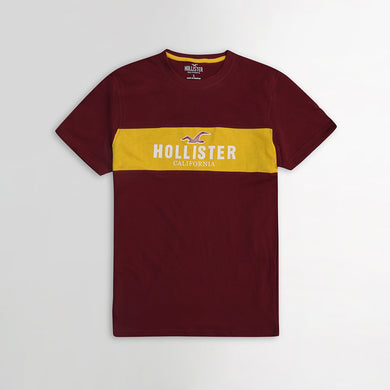 Holstr Paneled Logo Graphic Slim Fit T- Shirt  (HO-938)
