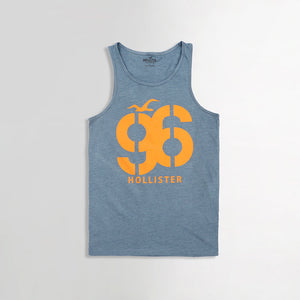96 Iconic Slim Fit Graphic print Casual Vest (HO-937)
