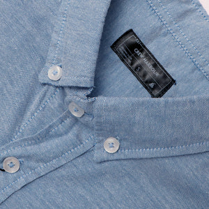 Men Crew Harbour Sky  Oxford Chambray Signature Casual Shirt (CR-4775)
