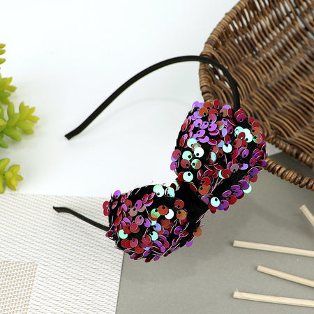 Sequin Decorated Hair band for Girls