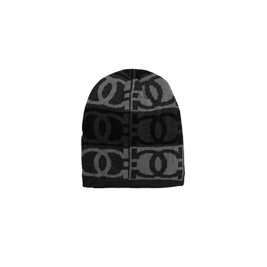 Cayo Fur lined Jacquard fitted beanie Cap (CP-1844)
