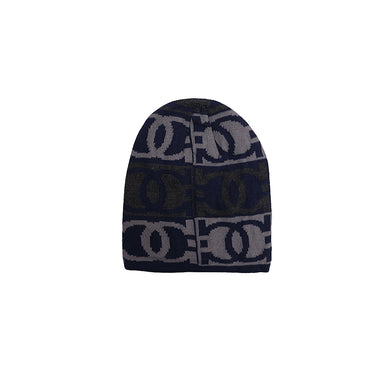 Carlito Fur lined Jacquard fitted beanie Cap (CP-1842)