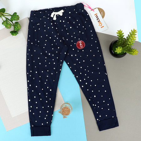 Girls Pack of 2 Print LEGGINGS (TW-10074)