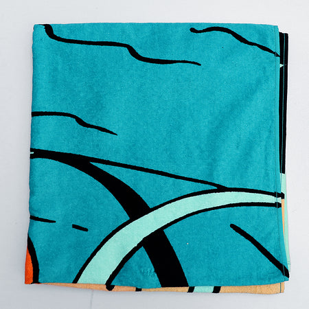 Kids Graphic pattern bath towel (62X32) (TO-1884)
